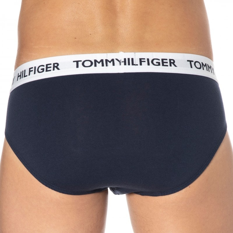 Tommy Hilfiger Tommy 85 Cotton Briefs - Navy Blue