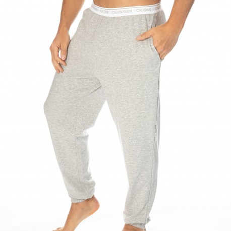 Calvin Klein Ck One Jogger Pants - Heather Grey