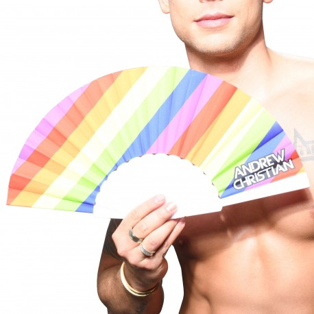 Andrew Christian Eventail Pride Stripe Arc-en-Ciel