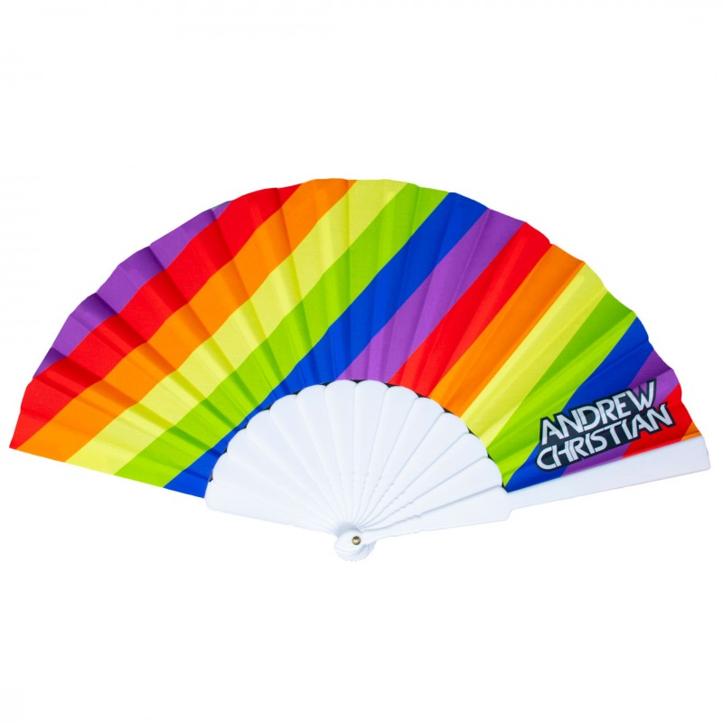 Andrew Christian Pride Stripe Fan - Rainbow