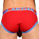 Andrew Christian Almost Naked Cotton Briefs - Red