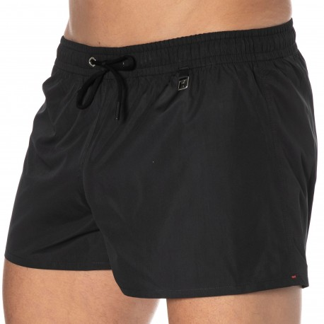 HOM Sunlight Swim Shorts - Black