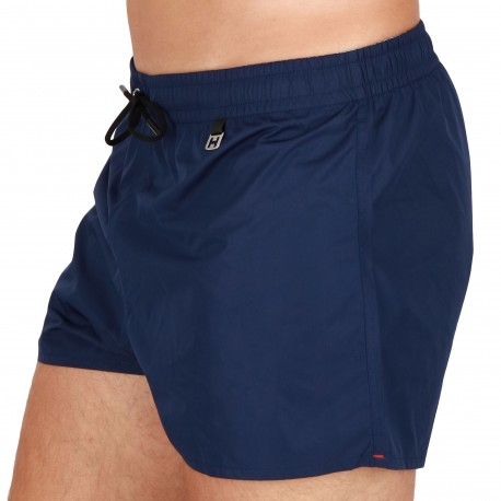 HOM Sunlight Swim Shorts - Navy Blue