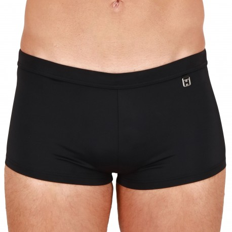 HOM Sea Life Swim Trunks - Black