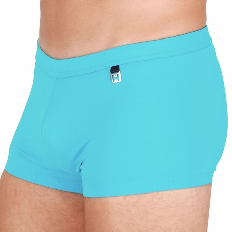 HOM Sea Life Swim Trunks - Turquoise