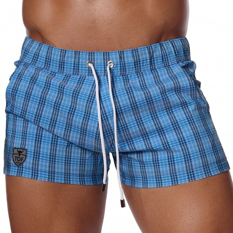 TOF Paris Short de Bain GOA Bleu