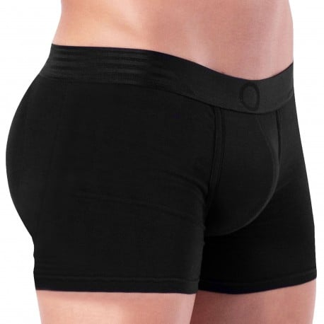 Rounderbum Boxer Long Basic Padded Noir