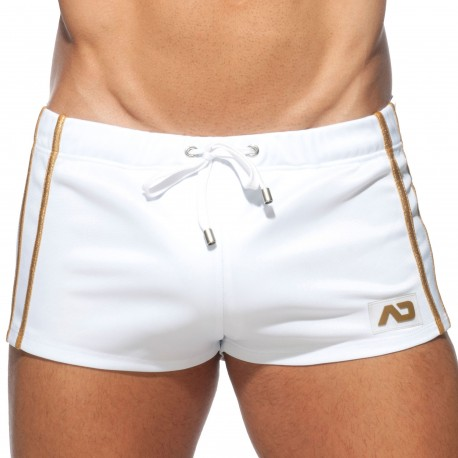 Addicted Party Shorts - White