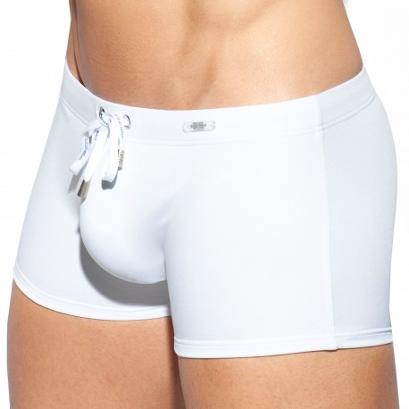 ES Collection Swim Boxer - White