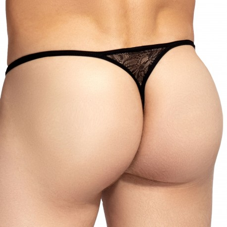 L'Homme invisible Corentin Striptease G-String - Black
