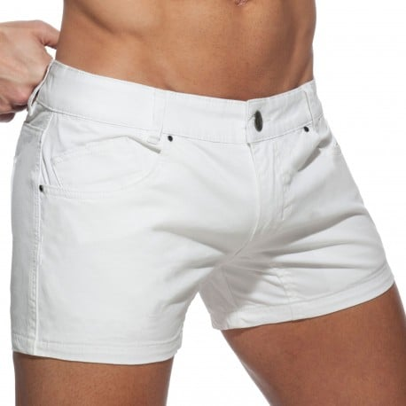 Addicted AD Shorts - White