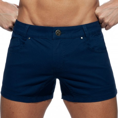 Addicted AD Shorts - Navy Blue