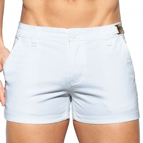 ES Collection Short Cargo Blanc