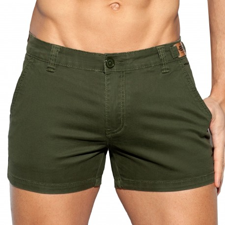 ES Collection Cargo Short - Khaki