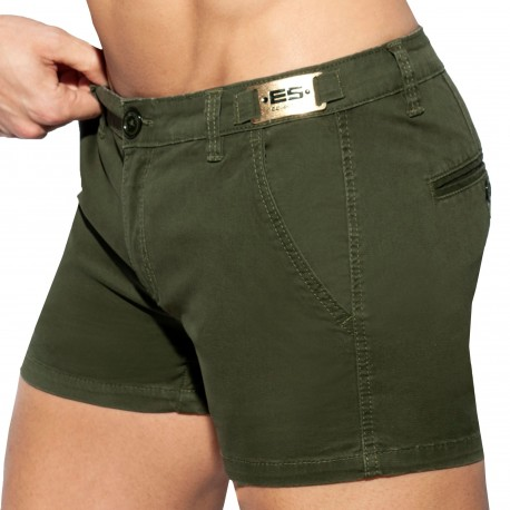 ES Collection Short Cargo Vert Kaki