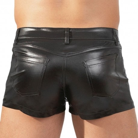 Orion Short Simili Cuir Noir