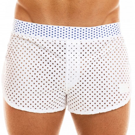 Modus Vivendi Short Jogging Labyrinth Blanc