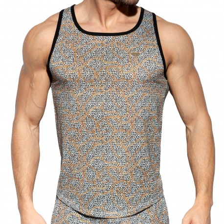 ES Collection Leo-Chains Tank Top