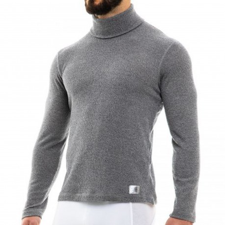 Modus Vivendi Pull Smooth Knit Gris Anthracite