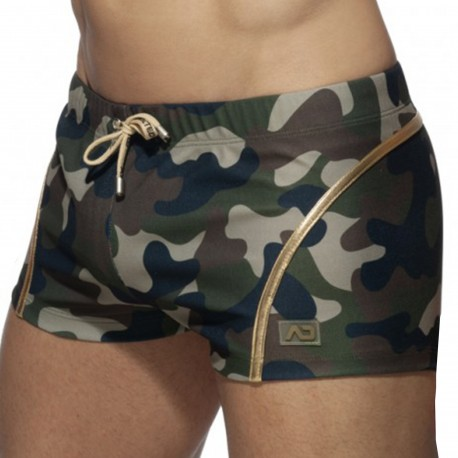 Addicted Short Court Microfibre Camouflage - Or