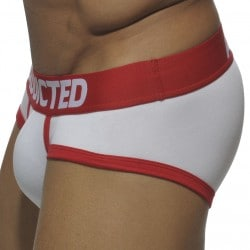 Basic Colors Brief - White - Red