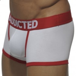 Basic Colors Boxer - White - Red