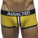 Addicted Shorty Bottomless Double Piping Jaune