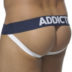 Jock Strap Basic Colors Blanc - Marine