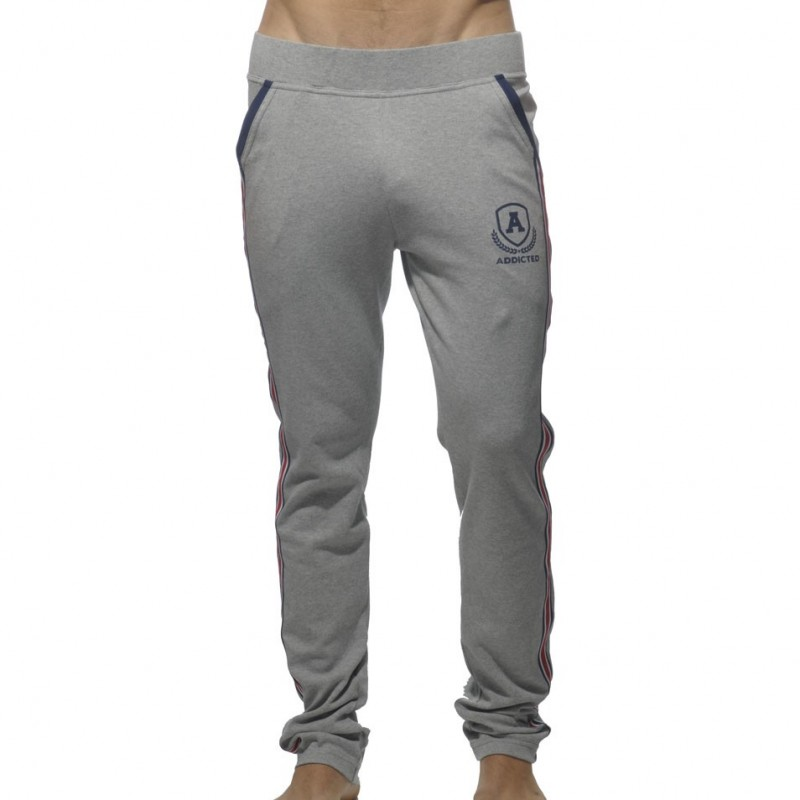 Addicted Pantalon Intercotton Gris