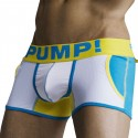 Pump! Jogger Spring Break Boxer - White - Blue - Yellow
