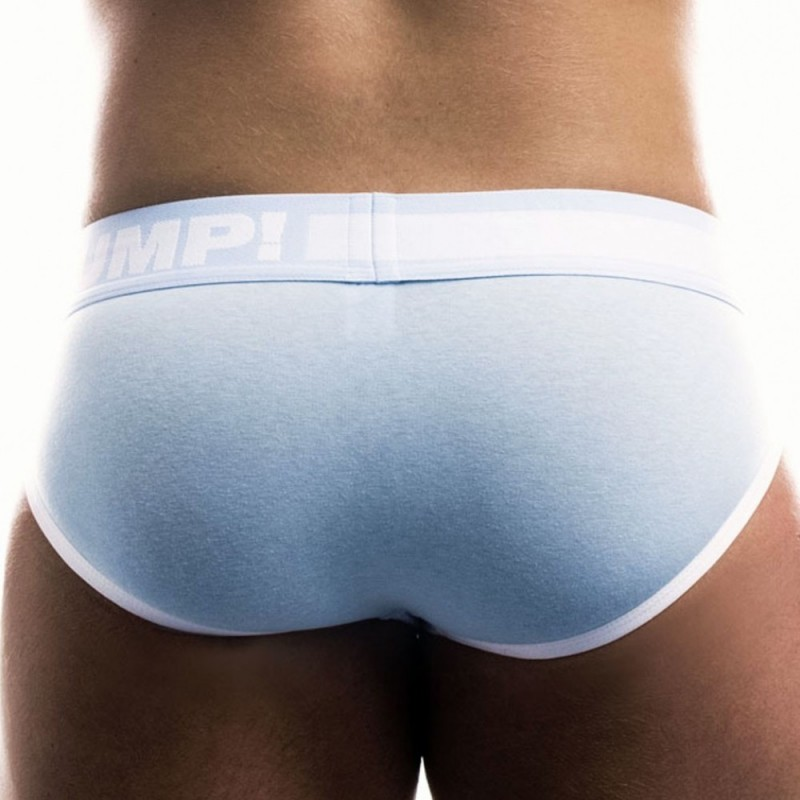 Pump! Frost Brief - White - Blue