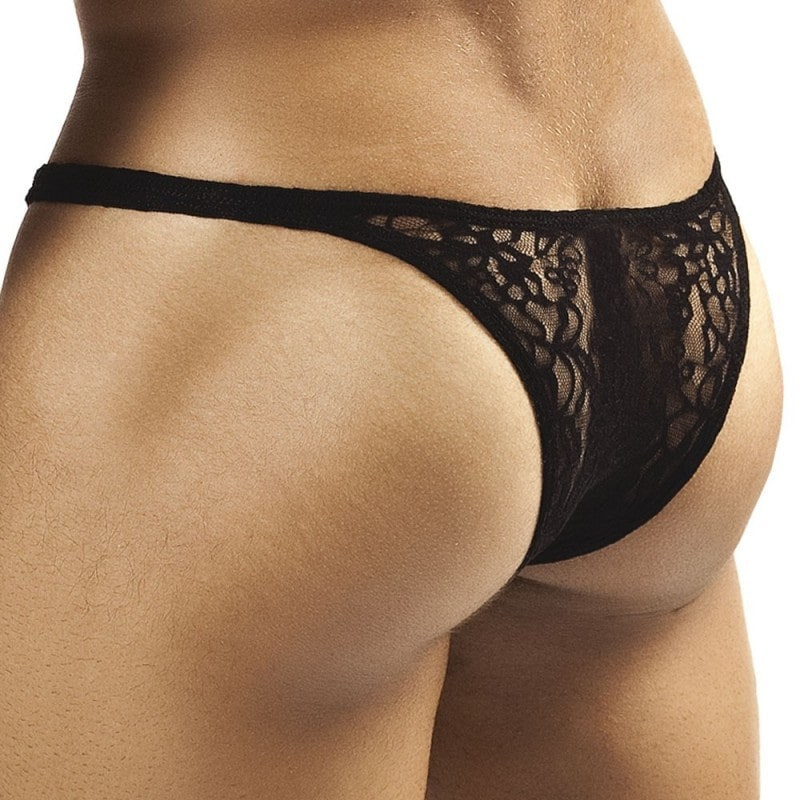 Joe Snyder Bulge Bikini - Black Lace