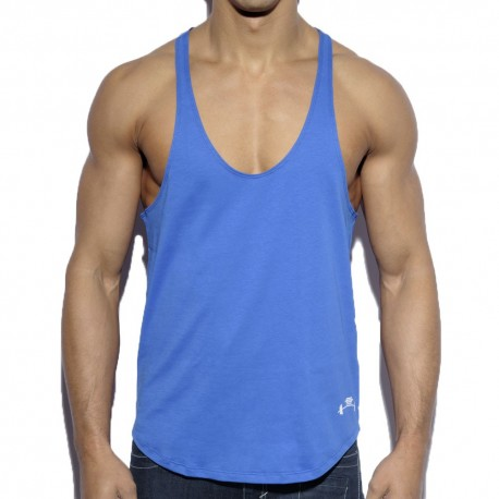Fitness Plain Tank Top - Royal