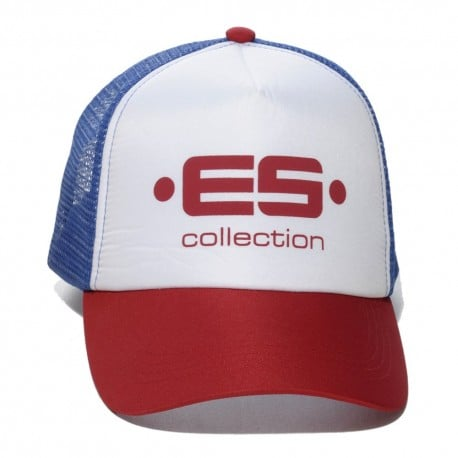 Print Logo Baseball Cap - Red