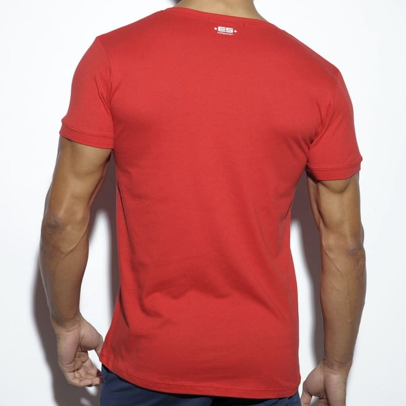 ES Collection T-Shirt Never Back Down Rouge