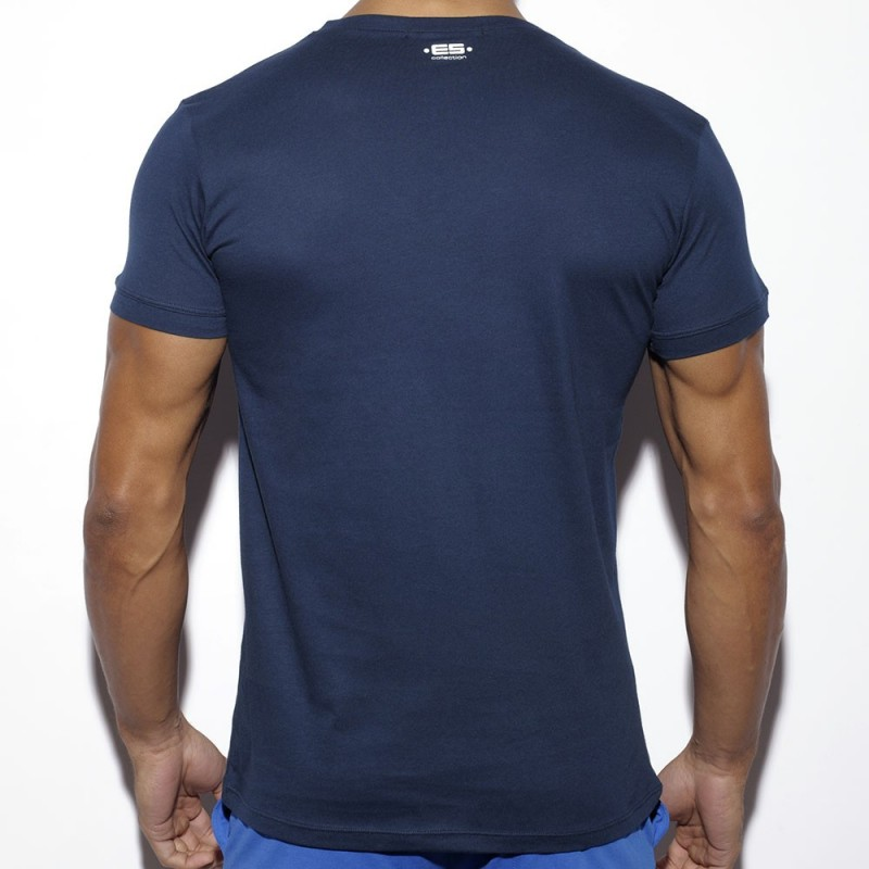 ES Collection T-Shirt Never Back Down Marine