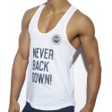 ES Collection Débardeur Never Back Down Blanc