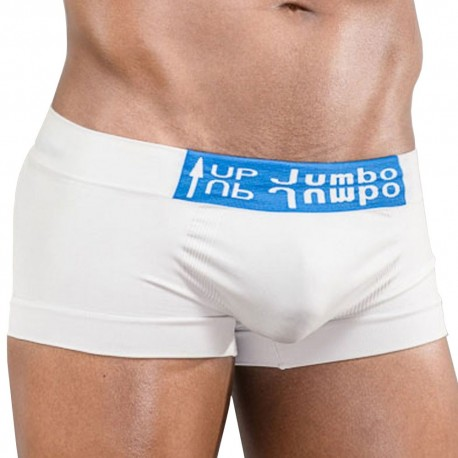 Stretch Jumbo-Up Boxer - White
