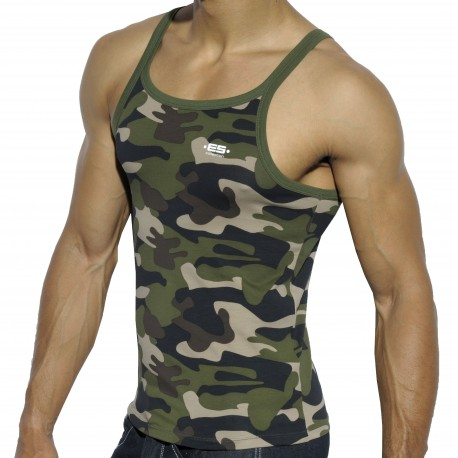 Summer Tank Top - Camouflage