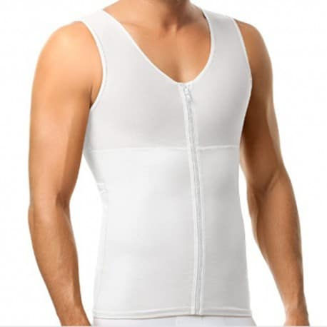 Torso Toner Body Shaper - White