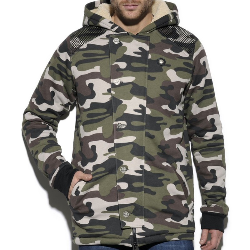 Manteau Military Camouflage