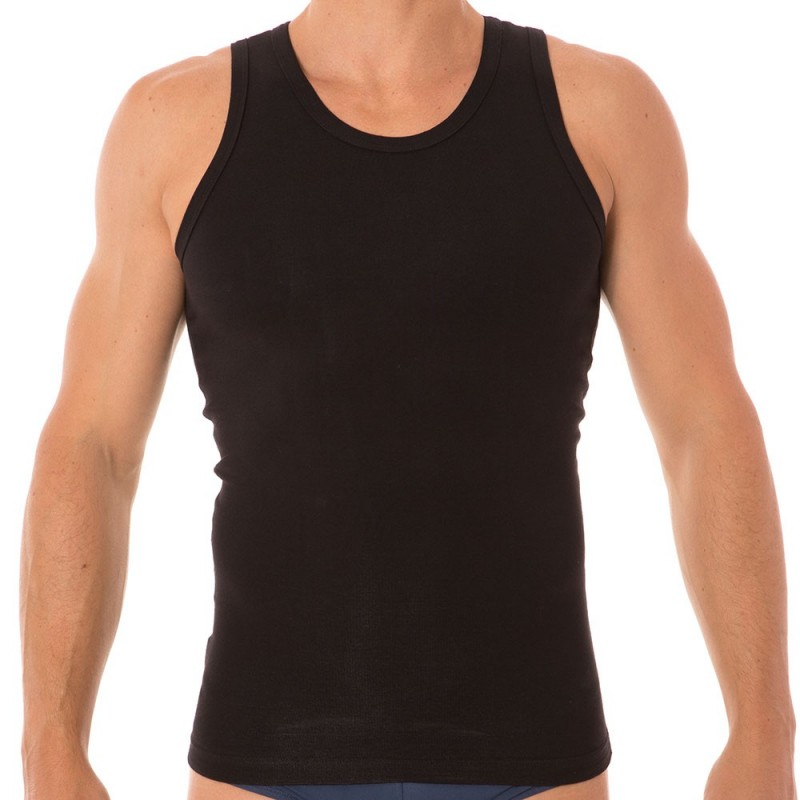 Firm Control Tank Top - Black