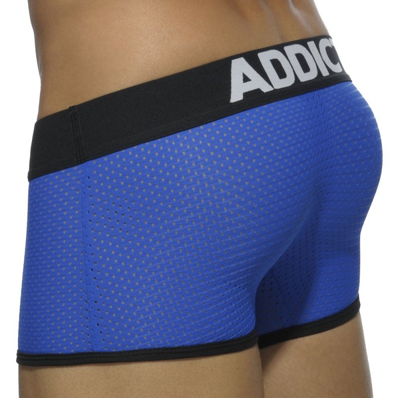 Addicted Boxer Contrasted Mesh Royal