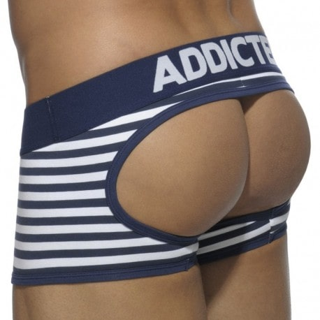 Addicted Shorty Empty Bottom Basic Colors Sailor Marine