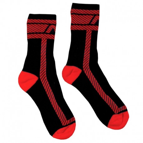 AD Fetish Fetish Socks - Black - Red
