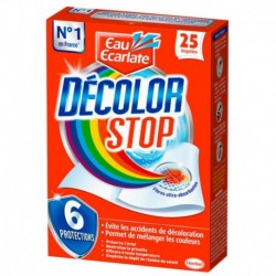 25 Decolor Stop Wipes