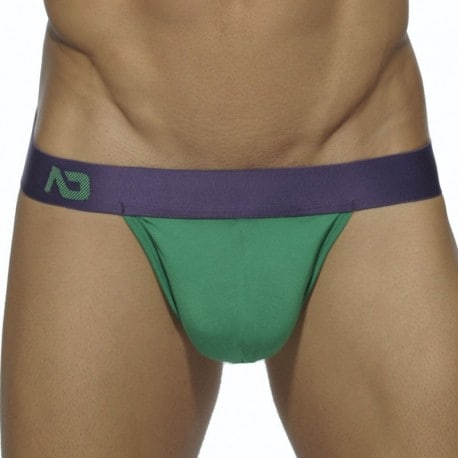 Addicted Ass Freedom Jock Up - Green