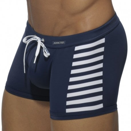 Addicted Boxer de Bain Sailor Colored Marine