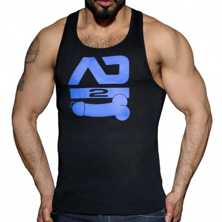 AD Fetish AD2 Tank Top - Black - Royal