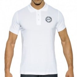 Polo Fit Blanc
